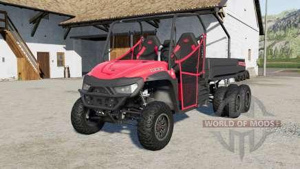 Mahindra Retriever long 6x6 pour Farming Simulator 2017