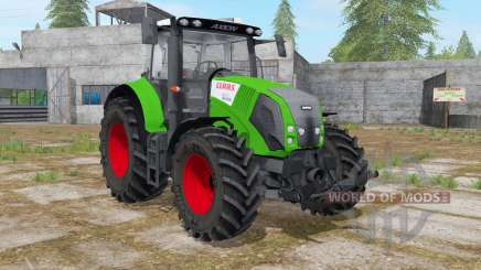 Claas Axion 820 islamic green pour Farming Simulator 2017