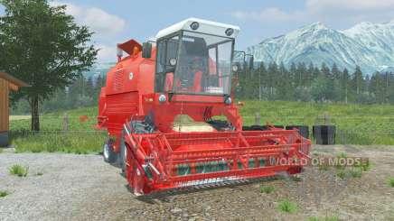 Bizon Rekord Z058 coral red für Farming Simulator 2013