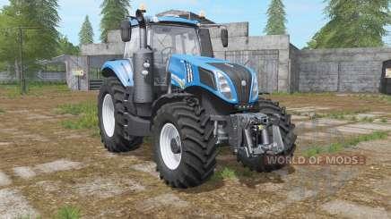 New Holland T8.435 with power options für Farming Simulator 2017