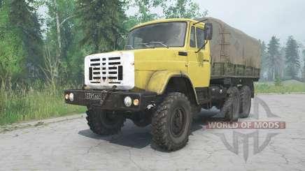 ZIL-4334-Farbe gelb für MudRunner