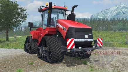 Case IH Steiger 600 Quadtrac light brilliant red pour Farming Simulator 2013
