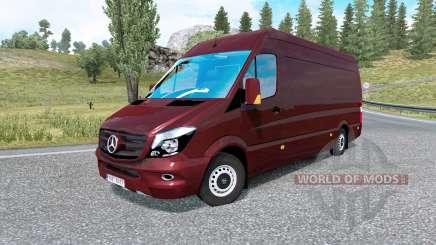 Mercedes-Benz Sprinter 315 CDI LWB 2015 v1.8.2 für Euro Truck Simulator 2