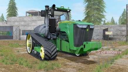 John Deere 9RT shamrock green für Farming Simulator 2017