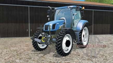 New Holland T6.160 changing wheels für Farming Simulator 2015