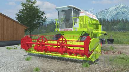 Claas Dominator 106 vivid lime green pour Farming Simulator 2013