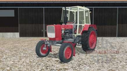 UMZ-6КЛ in rot für Farming Simulator 2015