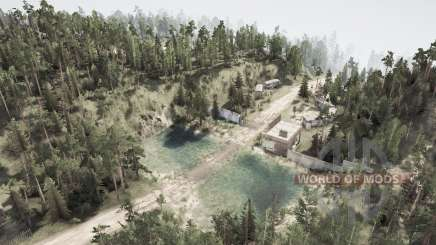 Village Широкоᶒ pour MudRunner