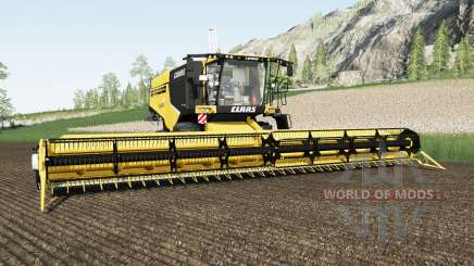 Claas Lexion 760 energy yellow für Farming Simulator 2017