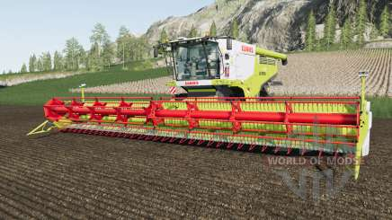 Claas Lexion 700 added warning sings with lights für Farming Simulator 2017