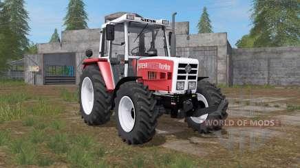 Steyr 8090A Turbo carmine pink für Farming Simulator 2017
