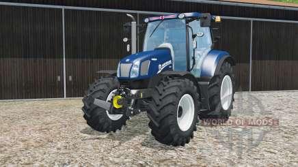 New Holland T6.160 Blau Poweɽ für Farming Simulator 2015