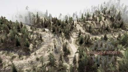 La forêt 9 pour MudRunner