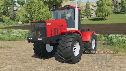 Kirovets K-744R3 in eine helle rote Farbe für Farming Simulator 2017