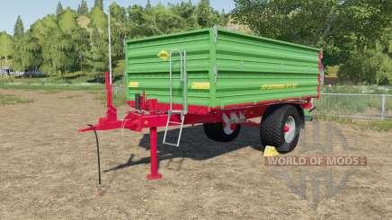 Strautmann SEK 802 with rear hose connections pour Farming Simulator 2017