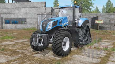 New Holland T8-series wheels options für Farming Simulator 2017