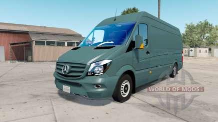 Mercedes-Benz Sprinter 315 CDI LWB (Br.906) 2015 pour American Truck Simulator