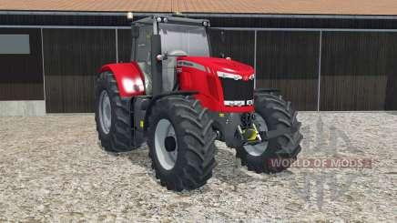 Massey Ferguson 7622 crayola red pour Farming Simulator 2015