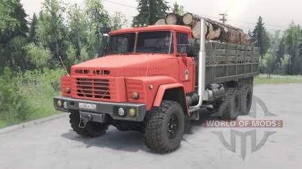 KrAZ-260 Naftovik pour Spin Tires