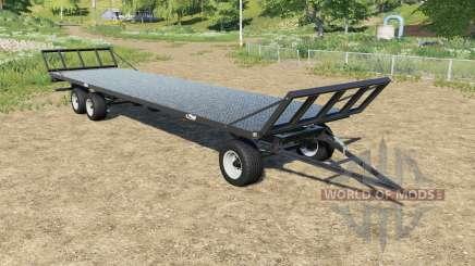 Fliegl DPW 180 bales autoload pour Farming Simulator 2017