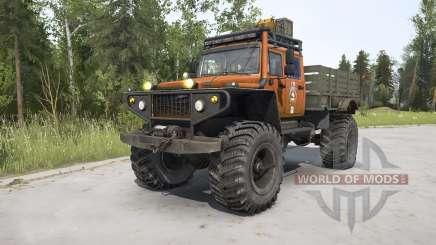 ZVM-39082 Siver 4x4 für MudRunner