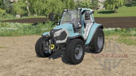 Lindner Lintrac 90 with two added engine options für Farming Simulator 2017