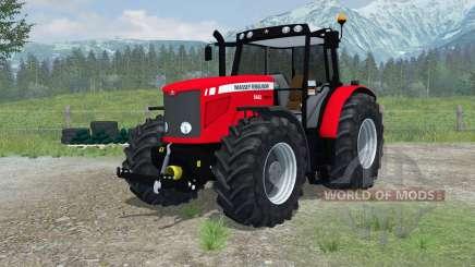 Massey Ferguson 6480 More Realistic pour Farming Simulator 2013
