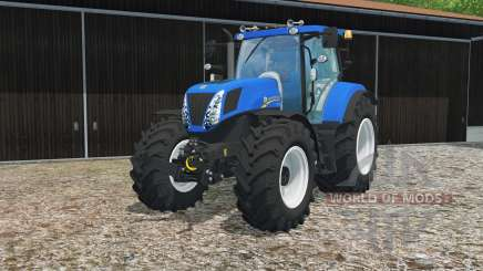 New Holland T7.270 true blue pour Farming Simulator 2015