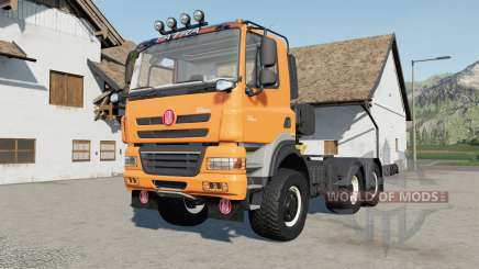 Tatra Phoenix T158 6x6 Michelin wheels für Farming Simulator 2017