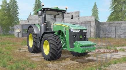 John Deere 8R-series revamped dirt textures pour Farming Simulator 2017