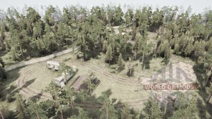 Forêt morte pour MudRunner