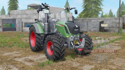 Fendt 300 Vario sea green pour Farming Simulator 2017