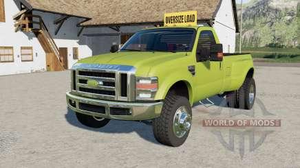 Ford F-350 oversize load für Farming Simulator 2017