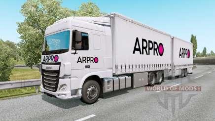 Painted BDF Traffic Pack v6.7 für Euro Truck Simulator 2