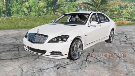 Mercedes-Benz S 600 (W221) 2010 pour BeamNG Drive