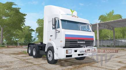 KamAZ-54115 animé tableau de bord pour Farming Simulator 2017
