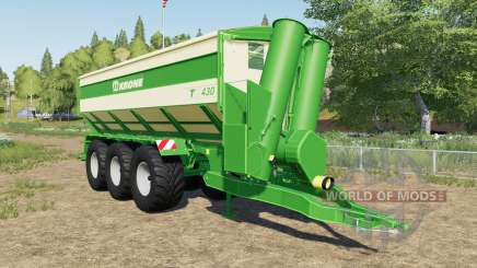 Krone TX 430 with tow hitch für Farming Simulator 2017
