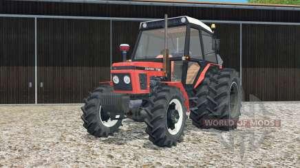 Zetor 7745 rear twin wheels pour Farming Simulator 2015