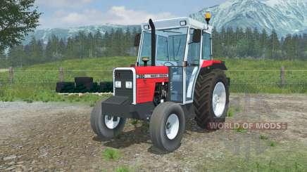 Massey Ferguson 390 added front counterweight pour Farming Simulator 2013