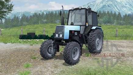 MTZ-Belarus 1025 mit PKU-0.8 für Farming Simulator 2013