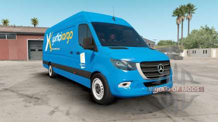 Mercedes-Benz Sprinter VS30 Vaɳ 316 CDI 2019 pour American Truck Simulator