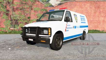 Gavril H-Series NYPD skin v1.1 pour BeamNG Drive