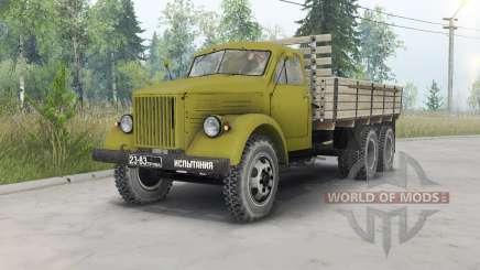 GAZ-51 allongé triaxial pour Spin Tires