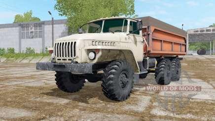Ural-5557 mit drei Varianten des Körpers für Farming Simulator 2017