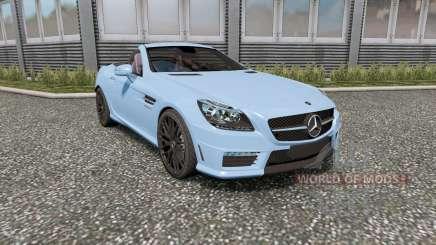 Mercedes-Benz SLK 55 AMG (R172) 2012 für Euro Truck Simulator 2