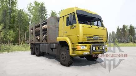 KamAZ-65225 hell gelb für MudRunner