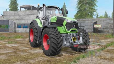 Deutz-Fahr 9-series TTV Agrotron engine upgrade pour Farming Simulator 2017