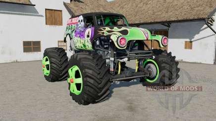 Grave Digger Monster Truck für Farming Simulator 2017