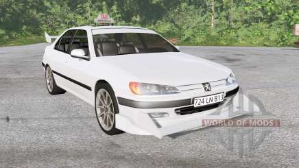 Peugeot 406 Taxi pour BeamNG Drive