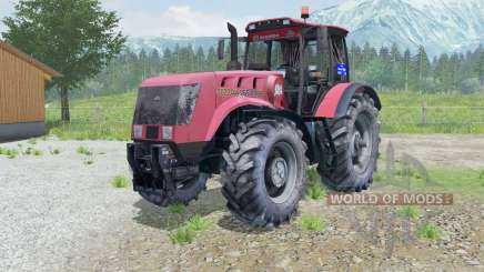 MTZ-3022ДЦ.1 Bélarus animé essieu avant pour Farming Simulator 2013